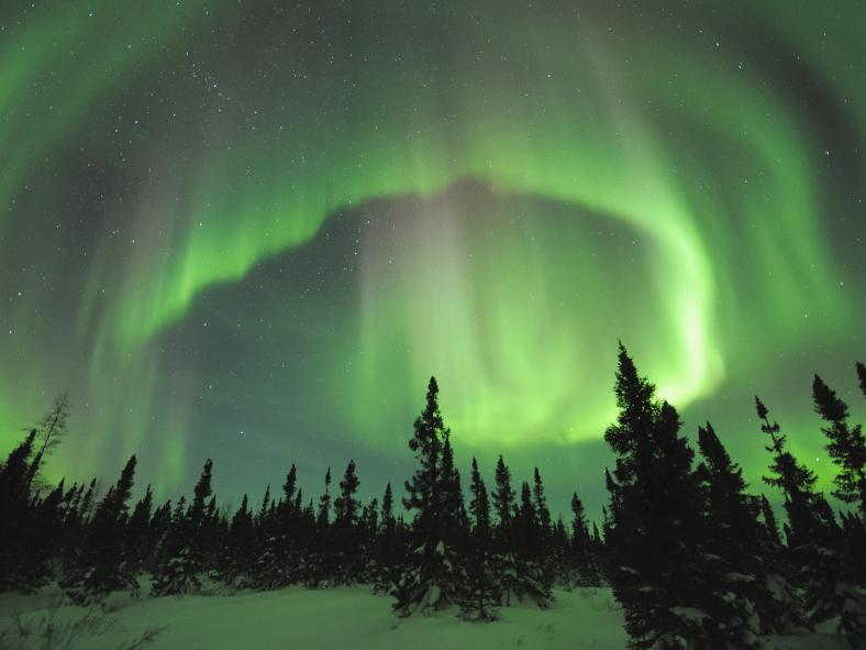 Aurora Borealis in Manitoba