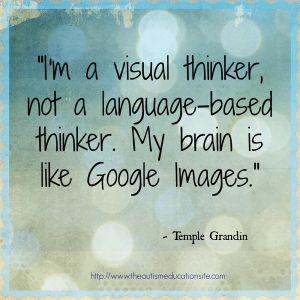 Temple Grandin visual