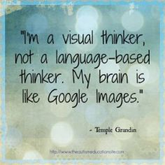Temple Grandin visual