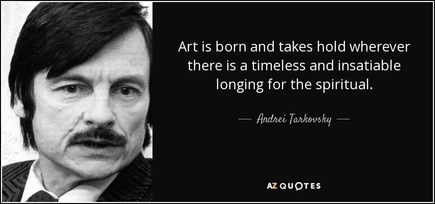 tarkovsky quote