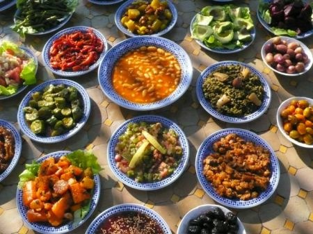 Fes-Traditional-Food-Spread