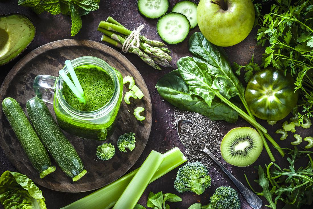 green-vegetables-with-chlorophyll
